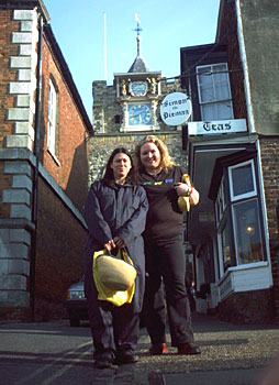 Kim Deal and Kat Kitten in Hastings