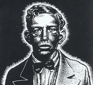 Charley Patton by Robert Crumb